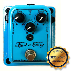 PEDAL BLACK SNAKE DIGITAL DELAY - SEMINOVO