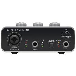 INTERFACE AUDIO BEHRINGER U-PHORIA UM2 - 8398