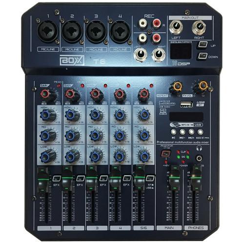 MESA BOXX 6 CANAIS - T6
