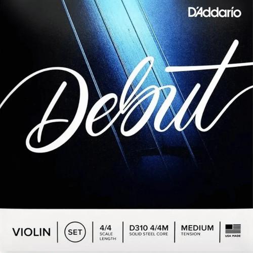 ENCORDOAMENTO DADDARIO DEBUT VIOLINO D310 - 31398