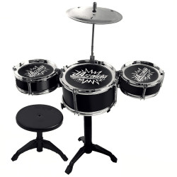 MINI BATERIA DREAM STAR INFANTIL PRETO