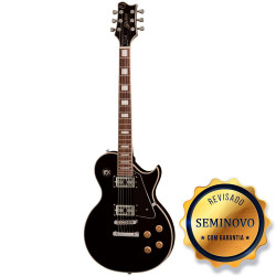 GUITARRA GOLDEN LP GLD150 BK - SEMINOVO