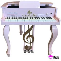 PIANO DE CAUDA MUSICALLE KIDS ROSA