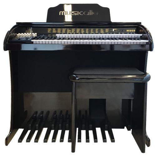 ORGAO MUSICALLE MS6B PLUS IMBUIA