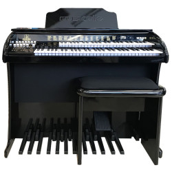 ORGAO MUSICALLE MS6B PLUS PRETO