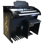 ORGAO MUSICALLE MS6B PLUS PRETO