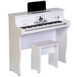 PIANO ARMARIO MUSICALLE INFANTIL BRANCO