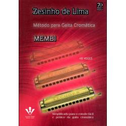 MÉTODO PARA GAITA CROMÁTICA - Zesinho de Lima