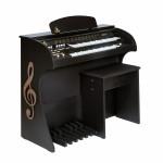 ORGAO MUSICALLE MS1F USB DISPLAY DIGITAL PRETO FSC