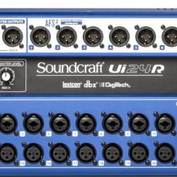 MESA SOUNDCRAFT Ui24R (Produto Original Harman + NFe + 1 Ano de Garantia)