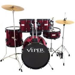 """BATERIA X-PRO VIPER 20\"""" VINHO - VIPER120"""
