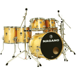BATERIA NAGANO CONCERT FULL LACQUER GN NATURAL