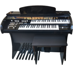 ORGAO MUSICALLE MS1B USB DISPLAY DIGITAL PRETO BRL