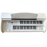 ORGAO MUSICALLE MS1B USB DISPLAY DIGITAL BRANCO BR