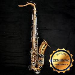 SAXOFONE TENOR SCHIEFFER SCHTS001 LAQ/NIQ - SEMINOVO