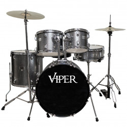 "BATERIA X-PRO VIPER 22"" DARK GRAY SPK - VIPER1122"